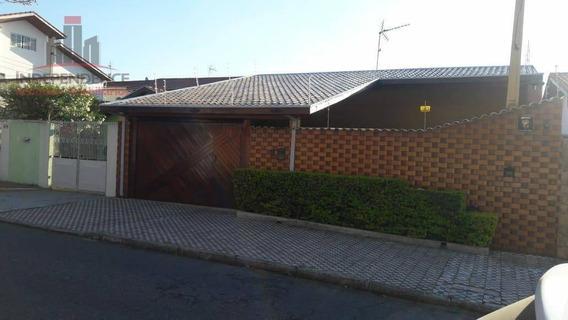 Casa Residencial À Venda, Jardim Satélite, São José Dos Campos. - Ca0612
