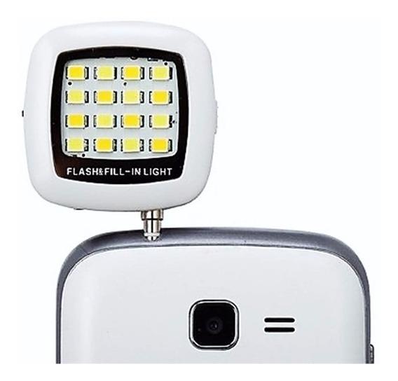 Lampada Led Flash Moto G Super Forte Para Celular iPhone