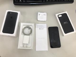 Celular Apple iPhone 7 128gb Preto Matte Anatel Mn922bz/a