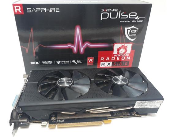 Placa De Video Sapphire Radeon Pulse Rx 580 8gb Ddr5 Oc