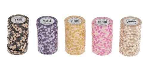 Fichas De Póker Del Casino 50 100 500 1000 5000