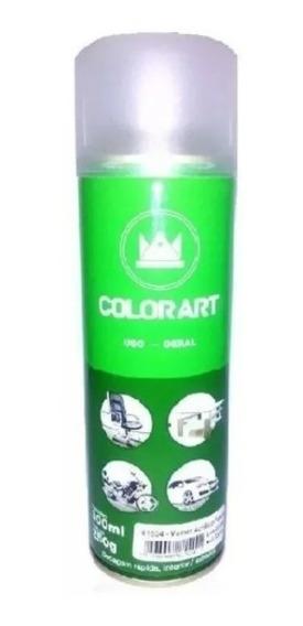 Kit Tinta Spray Alta Temperatura Cor Vermelha E Spray Verniz