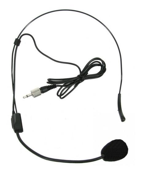 2 Microfones Headset Auricular Ht9 Karsect Plugue P2 Rosca