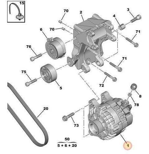 Alternador Citroen C4 2.0 Nafta / Picasso Familiar 2.0 Hdi