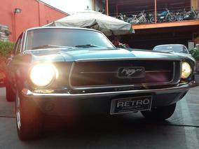 Mustang Hardtop 1967/1967 Garagem Retrô