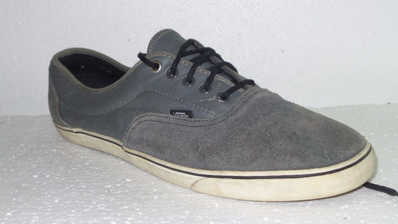 Zapatillas Vans Us12- Arg45.5 Gris Usadas All Shoes