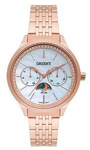 Relógio Orient Feminino Multifunção Frssm026 Rosegold