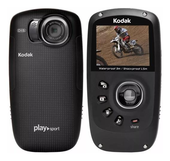 Câmera A Prova D´água Kodak Play Sport Hd 1080