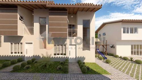 Imagem 1 de 17 de Sobrado Com 2 Dormitórios À Venda, 72 M² Por R$ 680.000,00 - Santiago - São Sebastião/sp - So0289