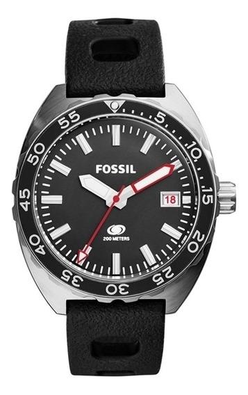 Relogio Masculino Fossil - Fs5053/8pn - Preto/prata