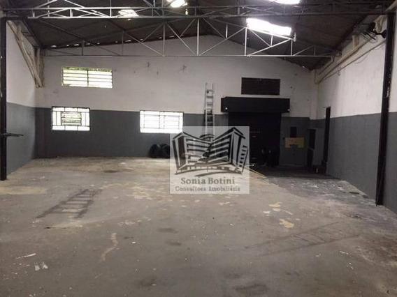 Galpão Para Alugar, 300 M² Por R$ 5.000/mês - Parque Da Mooca - São Paulo/sp - Ga0121