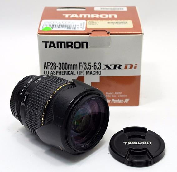 Lente Tamron 28-300 3.5-6.3 Xr Di Ld P/ Pentax
