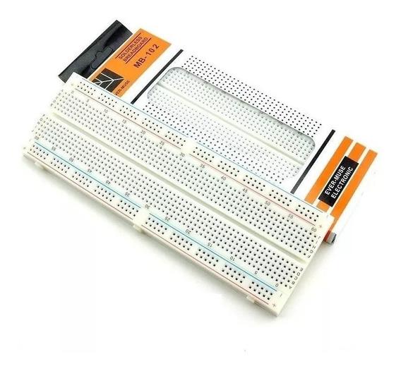 Protoboard 830 Furos Arduino, Pic