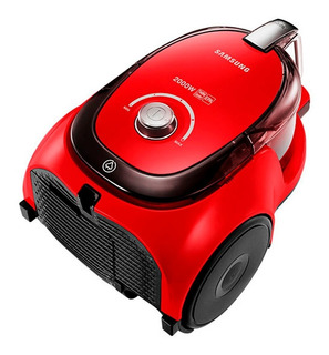 Aspiradora Samsung Vc20 Trineo Sin Bolsa 2000 Watts Roja