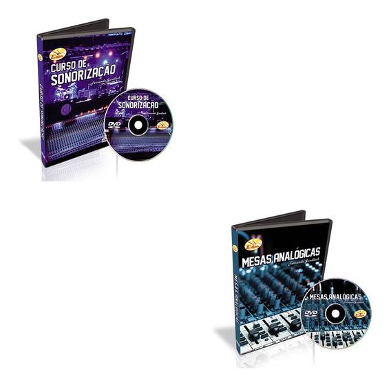 Curso Operador De Áudio E Sonorização 2 Dvds-edon-original
