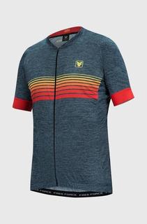 Camisa Ciclismo Masculina Sport Sunshine Free Force
