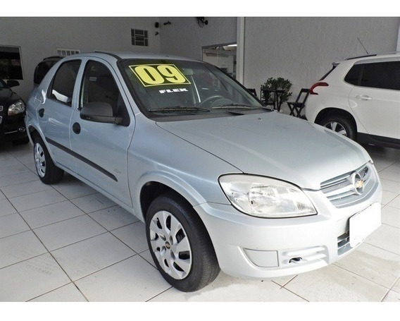 Chevrolet Prisma 1.4 Maxx Prata 8v Flex 4p Manual 2009