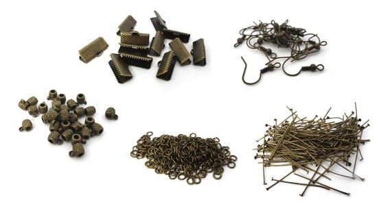 Componentes De Bisutería En Oro Viejo Kit1005