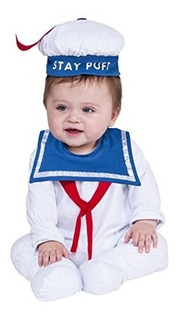 Traje De Rubie S Co Bebé Cazafantasmas Clásica Estancia Puff