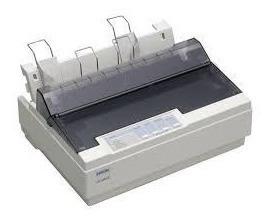 Impressora Matricial Epson Lx-300+ll(c/ Usb) S/ Tampa+3 Fita