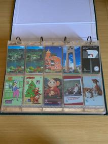Coleção Cartões Telefônicos Antigos Com Divisórias