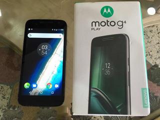 Motorola Moto G4 Prime 16gb Caja Y Cargador Oferta