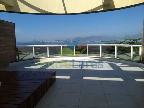 Jardim Guanabara, 3 Suítes, Varandão Gourmet Com Deck De Madeira E Jacuzzi Com Vista Panorâmica, 3 Vagas De Garagem, Apartamento Primeira Locação De Luxo Na Praia Da Bica - Ilap30212