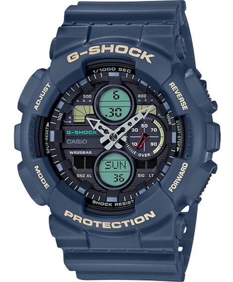 Relógio Casio G-shock Ga-140-2adr Garantia 2 Anos 12x S/juro