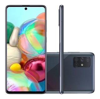 Celular Samsung Galaxy A71 A715 Dual 128gb 6gb Ram Preto