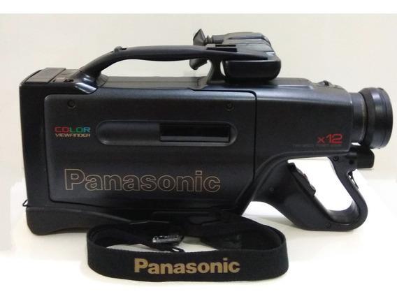 Filmadora Omnimovie Panasonic Pv-9100-a Vhs *para Restauro*