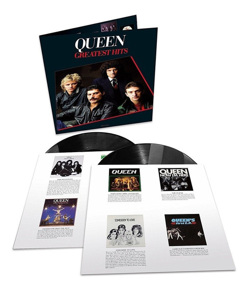 Lp Queen Greatest Hits I Duplo 180g Night At The Opera Jazz