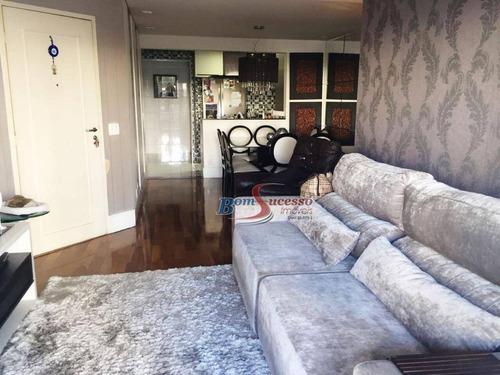 Apartamento Com 3 Dormitórios À Venda, 107 M² Por R$ 800.000,00 - Mooca (zona Leste) - São Paulo/sp - Ap1864