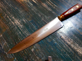 Antiguo Cuchillo Tome 33 Cm Total Y 20 De Hoja