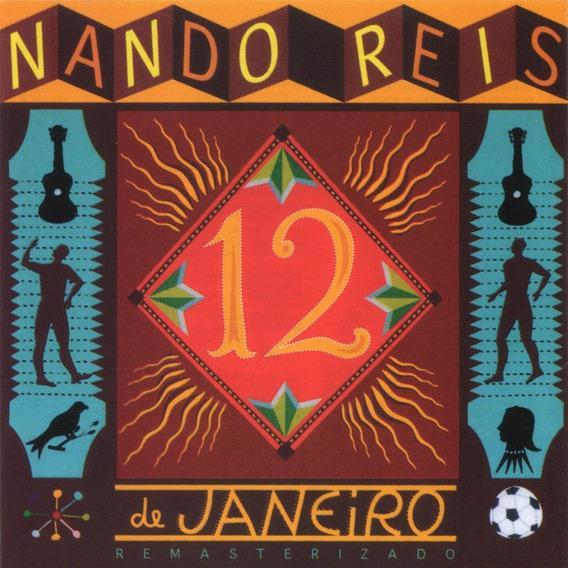 Cd Nando Reis- 12 De Janeiro (1994)