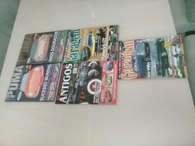 Lote Revistas Puma, Auto Antigos E De Garagem C/ 5 Unidades