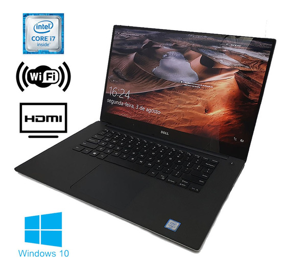 Notebook Dell Precision Core I7 6t 16gbddr4 / Hd500gb C/nota