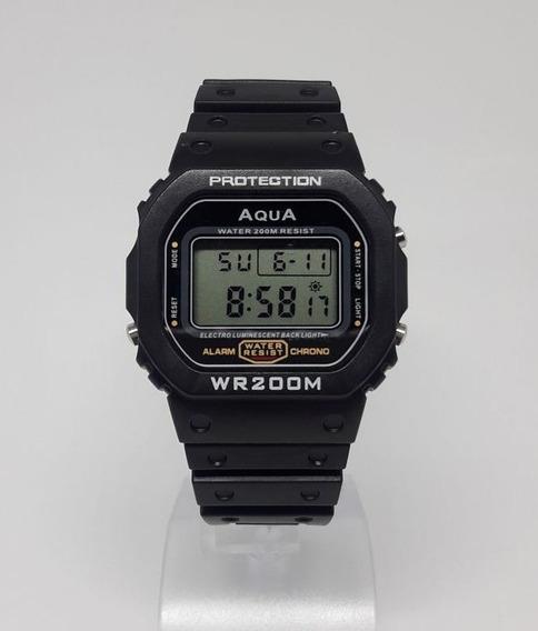 Relógio Original Aqua Waterproof A Prova Dagua Gp 519 Mito