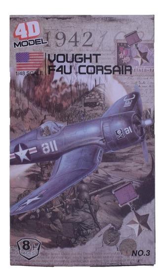 Avión A Escala 1/48 Para Armar F4u Corsair Modelo 4d