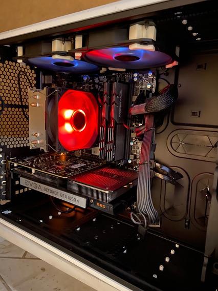 Pc Gamer / Edição - I7 7700k Unlocked - 32gb Ddr4 - 1050ti