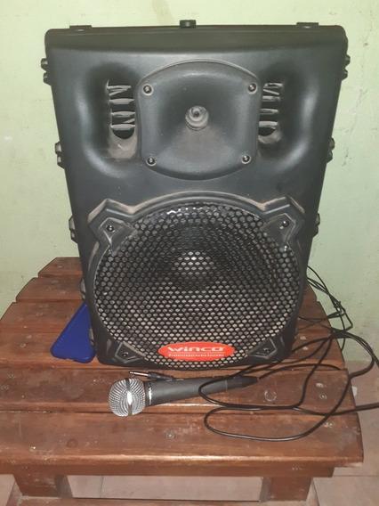 Parlante + Micrófono + Cable Auxiliar