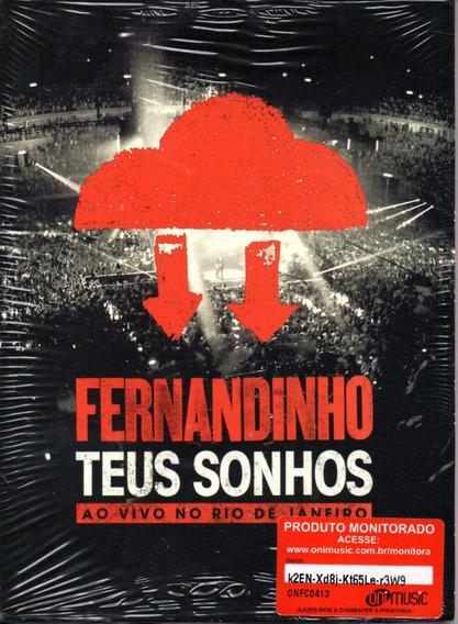 Dvd Fernandinho - Teus Sonhos - Ao Vivo No Rio De Janeiro