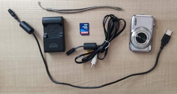 Câmera Digital Fujifilm Jx300 Funcionando 100% C/ Carregador