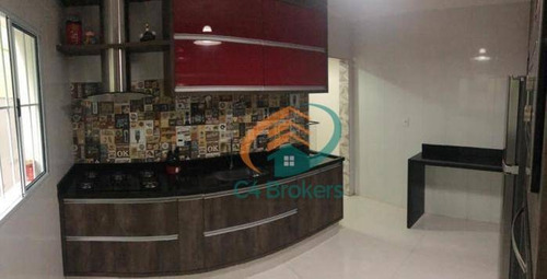 Imagem 1 de 20 de Sobrado Com 3 Dormitórios À Venda, 155 M² Por R$ 565.000,00 - Jardim São Francisco - Guarulhos/sp - So0558