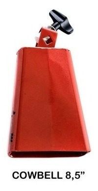 Cowbell Red Mambo 8,5 Polegadas Torelli To058