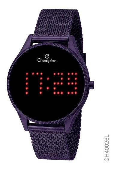 Relógio Champion Unissex Digital Ch40026l Uva Redondo