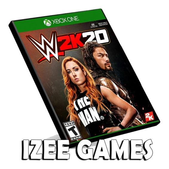 Wwe 2k20 Xbox One Midia Digital + 1 Jogo Grátis