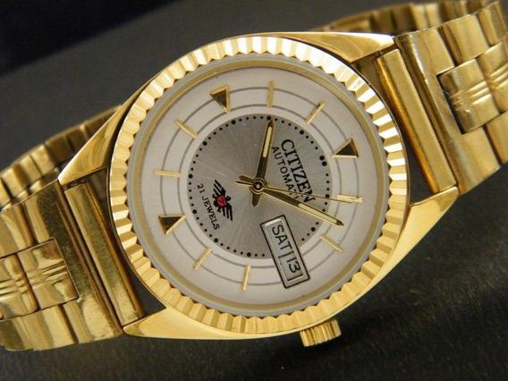 Relógio Citizen Sem Uso Automático 8200a Japão Masc.