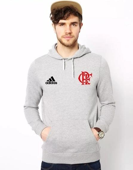 Blusa Moletom Flamengo Futebol Time Casaco Rubro