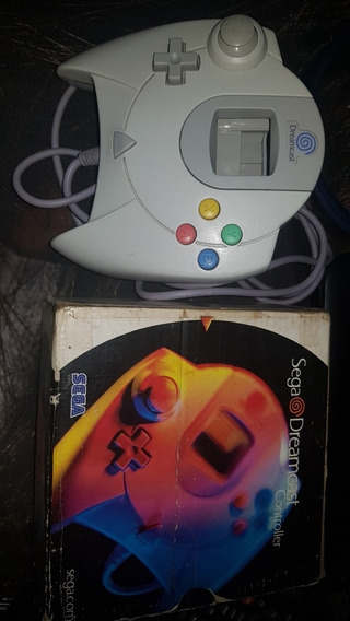 Controle Dreamcast Original Com Caixa