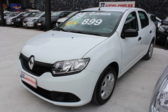 Renault Logan Authentique 1.0 12v - Sem Entrada 60x 899,00